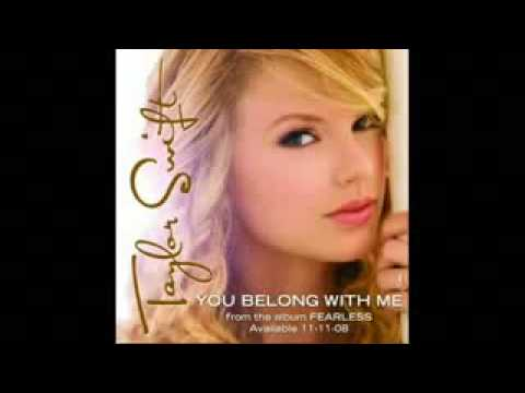 Taylor Swift You Belong With Me+Lyrics+Download