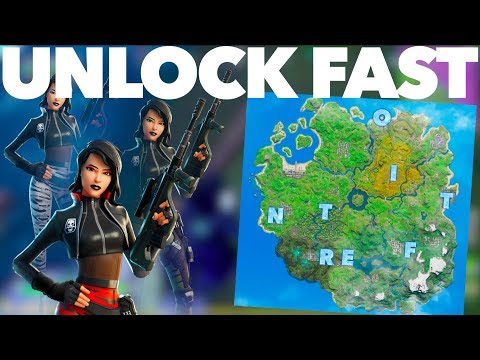 How To Get The Sorana Skin FAST In Fortnite Chapter 2 | ALL Hidden F-O-R-T-N-I-T-E Letters Locations