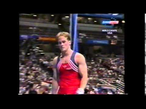 Paul HAMM (USA) rings - 2003 Anaheim worlds AA