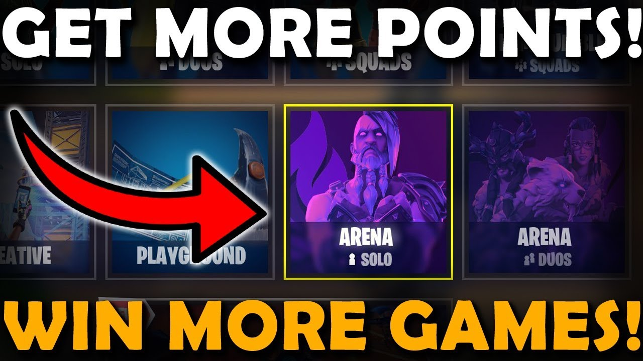 how to win arena games more frequently on fortnite ranked mode get more points - arena fortnite ranks