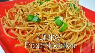 Crispy Fried Noodles Recipe Noodles for Chinese Bhel Noodles For Manchow Soup