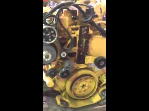 C13 Acert truck engine - YouTube