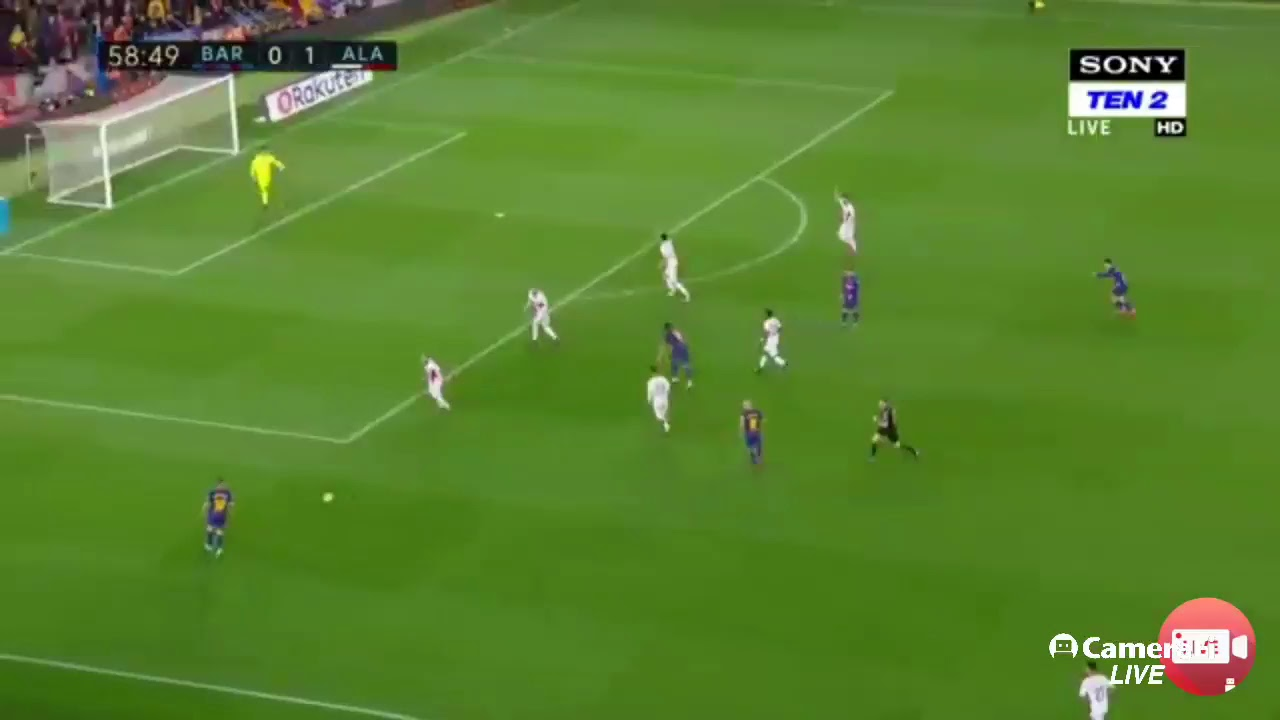 Barcelona live match today - YouTube