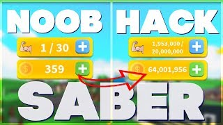 Saber Simulator Roblox Hack / Script - Coins Tp + AutoFarm