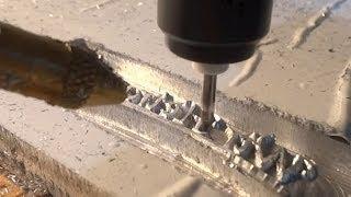 CNC machine 3d engraving vcarving on aluminium stamp / Stempel ausspitzen CNC Fräse(, 2014-04-30T12:28:49.000Z)