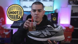 THE ORIGINAL DAD SHOES!!!   New Balance 990 V4 Review   in hand and on foot   ORIGINAL DAD SHOE