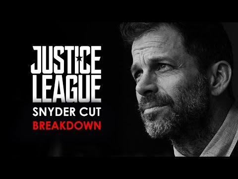 Justice League Snyder Cut Original Script Breakdown   All Deleted Scenes Explained