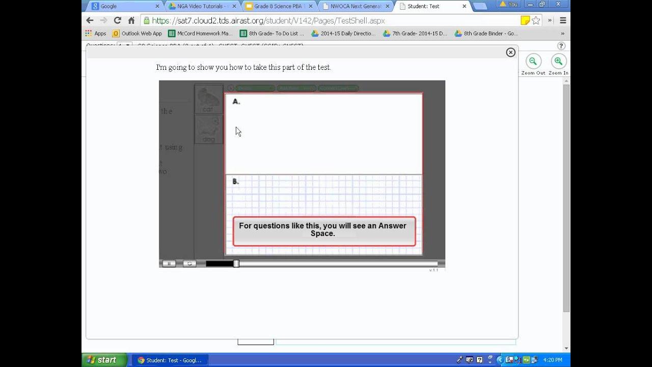 Secondary Tutorial 6 8th Grade Science Tools