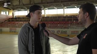 Rozhovor - Martin Nečas před odletem na Draft NHL  (16.6.2017)