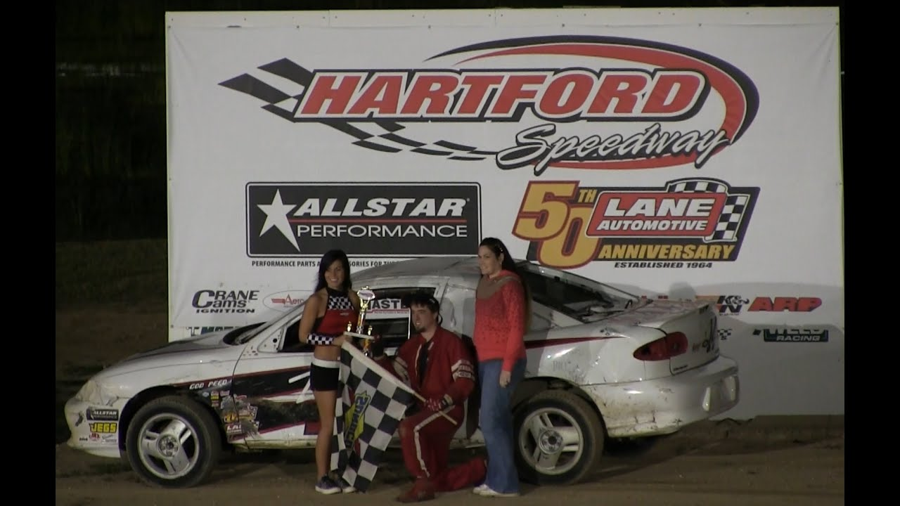cyber stock feature at hartford speedway on 8 28 15 youtube