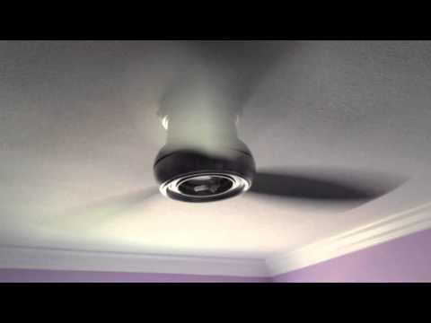 REALLY BAD! Minka Aire Concept II 52 Wet Ceiling Fan Model F574-BNW