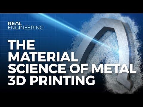 The Material Science of Metal 3D Printing