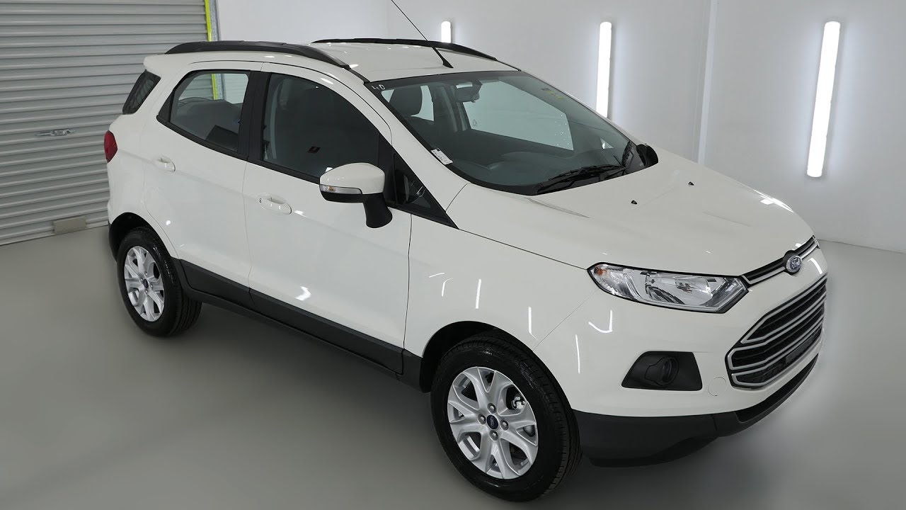 ford ecosport trend diamond white auto suv wagon ndvz youtube. Black Bedroom Furniture Sets. Home Design Ideas