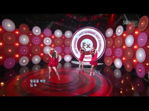 SBS인기가요-Comeback special-f(x) [Hot Summer](626회)