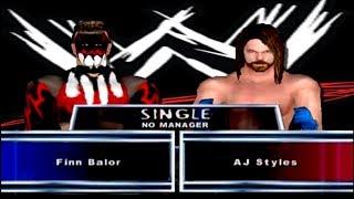Finn Balor vs AJ Styles (Smackdown! İşte Acı Geliyor)