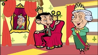 Download Mr Bean Cartoon - The QUEEN and KING Bean?! | Funny Episodes | Mr Bean Cartoon World