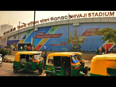 ONGC | Vfs Visa Office Delhi | Shivaji Stadium Station| Subway Station New Delhi |