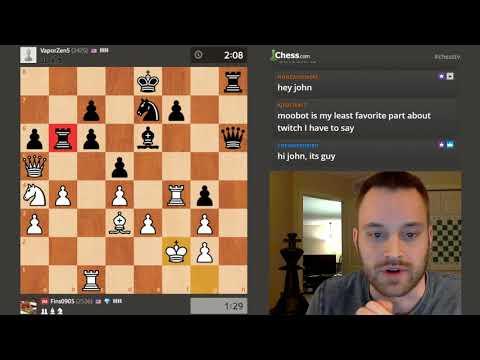 Announcement Stream: Dual Commentary Match vs. GM Simon Williams (GingerGM)!