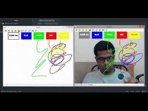 Tutorial: Webcam Paint Application Using OpenCV - Towards