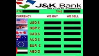BANK BOARDS FOREX RATE INTEREST RATE DISPLAY BOARDS. Call us : 9018755551