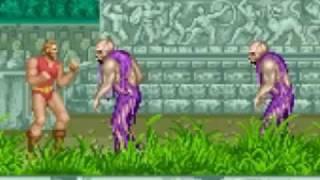 Weird Video Games - Altered Beast (Arcade)