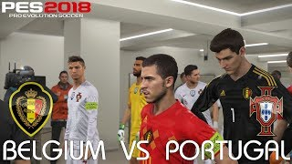 PES 2018 (PC) Belgium v Portugal @ Old Trafford | 2018 FIFA World Cup Jerseys | 1080P 60FPS