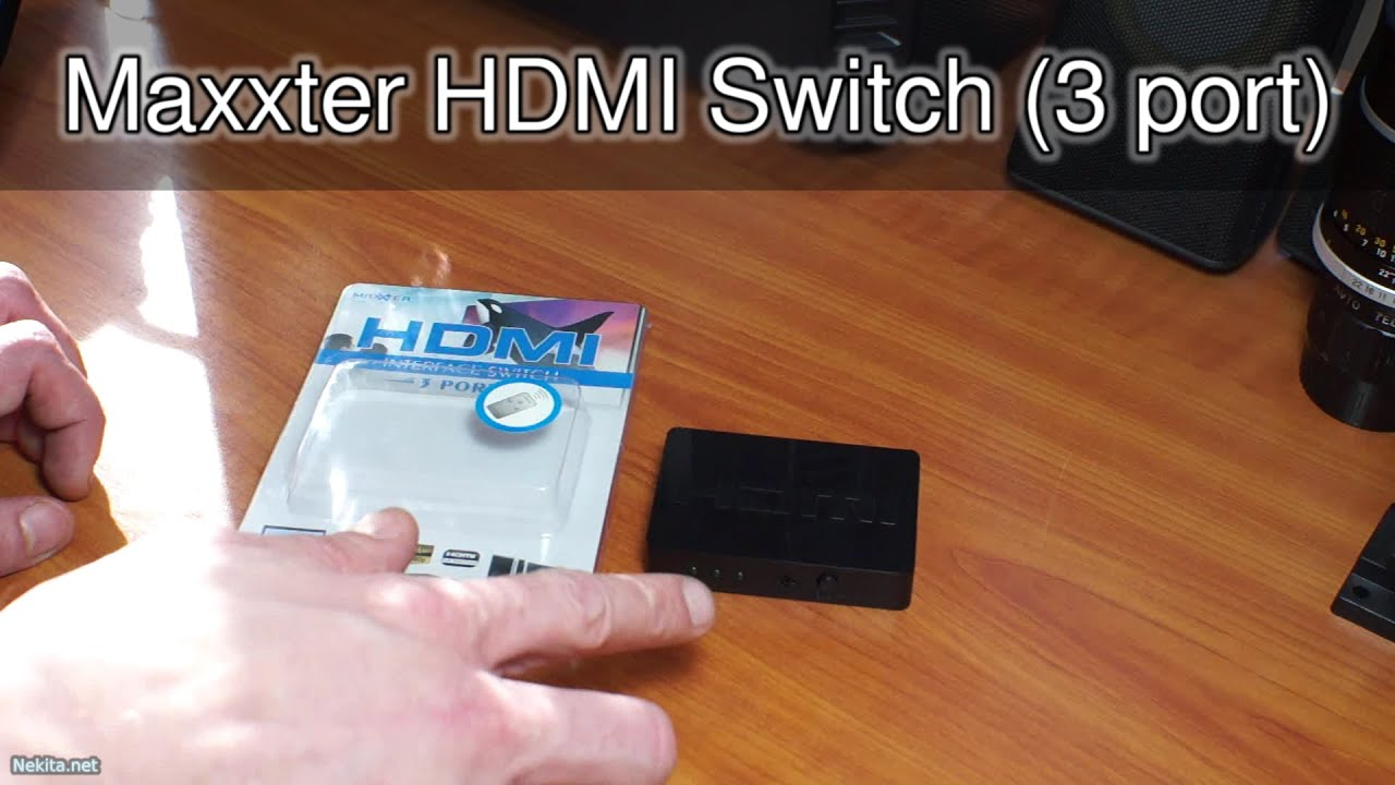 Maxxter hdmi switch 3 port broken right out of the box youtube - How to add more hdmi ports to your tv ...