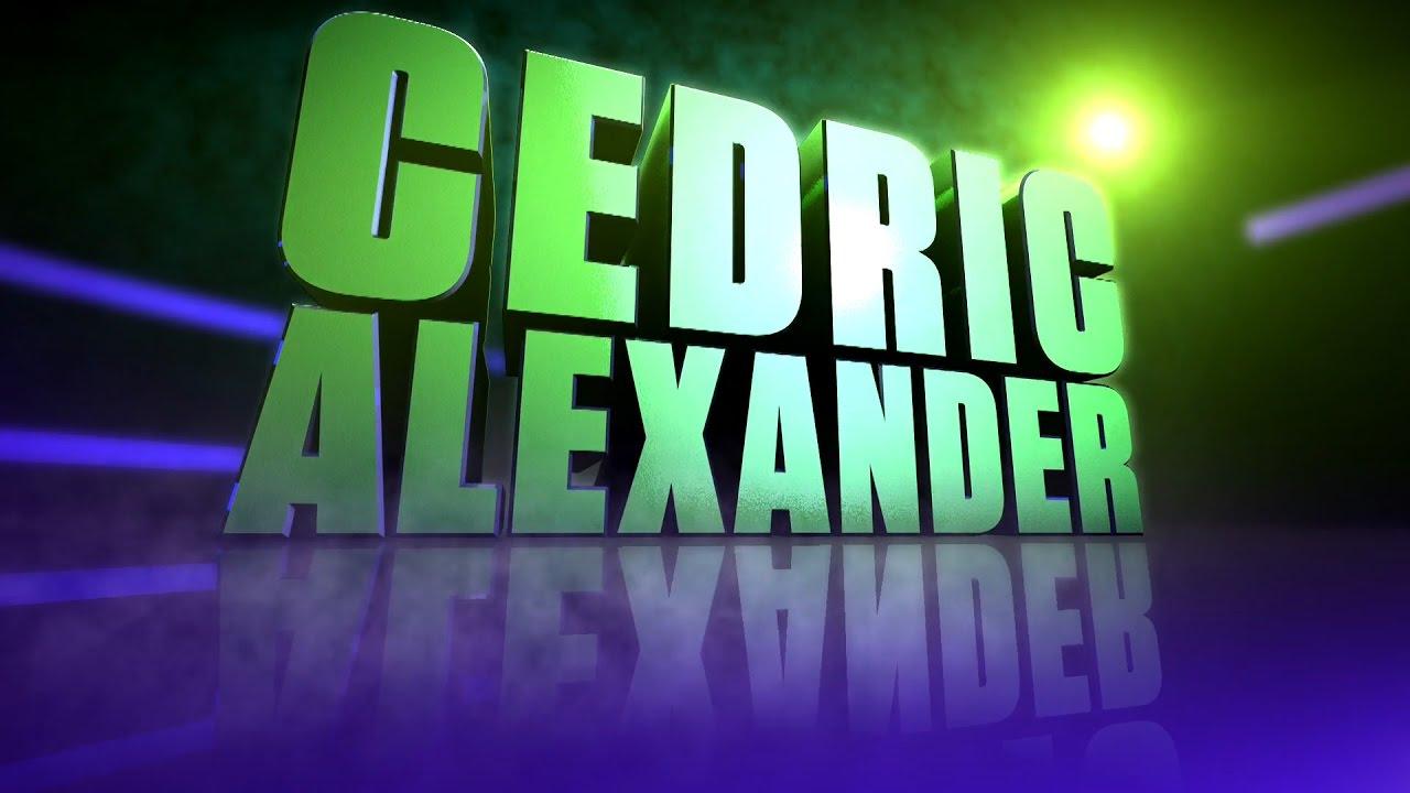cedric alexanders 1st titantron entrance video hd youtube