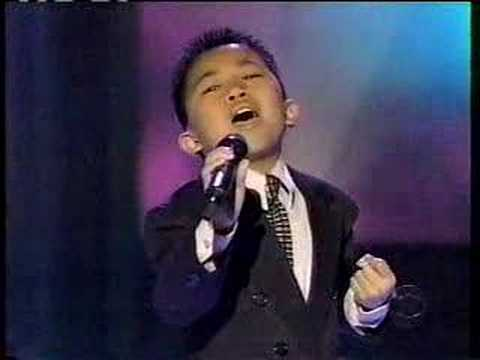 """Mark Mejia sings """"Got To Be There"""""""