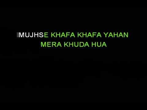 Judaa Ishqedariyaan - Arijit Singh - Karaoke with Lyrics