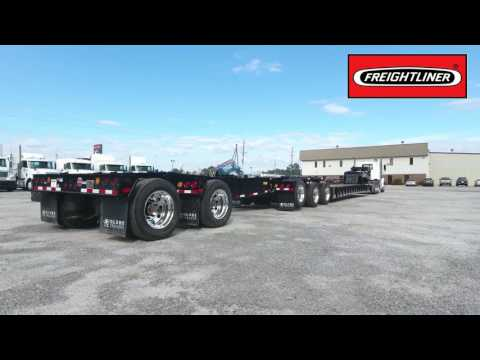 Globe Trailers:Freightliner of Savannah 60 ton extendable