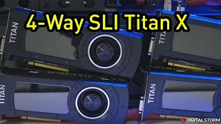 4-Way SLI GTX Titan X 4K Benchmarks Review