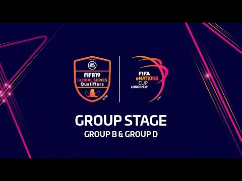 FIFA eNations Cup - Group Stage (Group B & Group D)