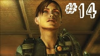 Resident Evil Revelations Gameplay Walkthrough Part 14 - Elevator Boss - Campaign Episode 6