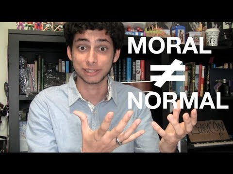 Being Moral Isn't Normal