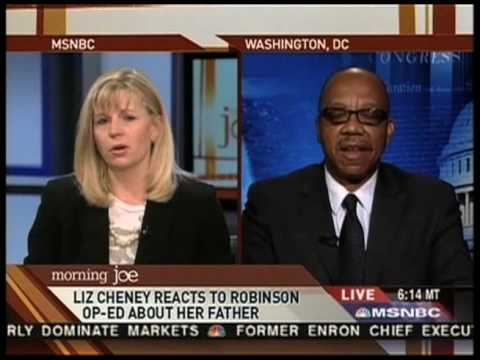 Liz Cheney Clashes With Eugene Robinson - Part 3 (HQ)