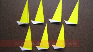 How To Fold Origami 7 Points Star - Origamiinstruction.com