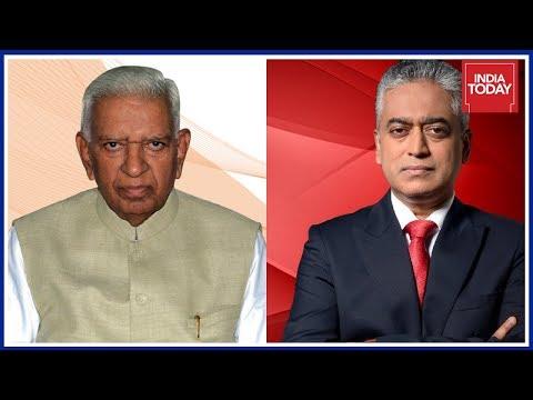 Rajdeep Sardesai Slams Vajubhai Vala, BJP Over Unethical Politics Played In Karnataka