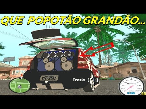 MC Neguinho do ITR e MC Denny - Que Popotão Grandão (GTA Modificado)