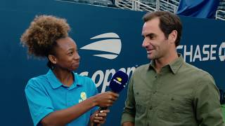 Roger Federer, Rafael Nadal, Simona Halep and More Answer Questions From a Kid Caster!