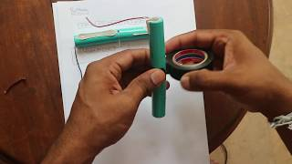 DIY How to Make a 6500mAh RC Battery Battery Pack Using An Old Laptop Battery