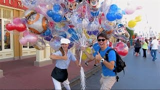 I LET GO OF THE BALLOONS..... at Magic Kingdom | DCP 2016