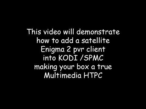 Vu+ / Enigma2 client set up in Kodi