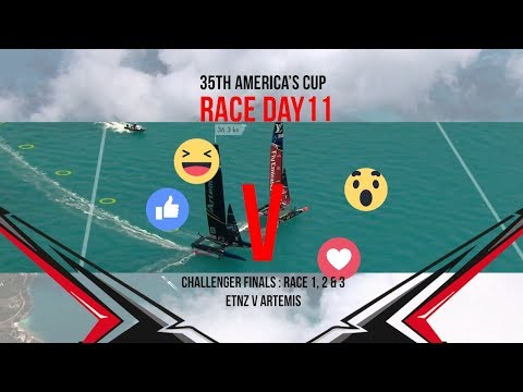 35th America's Cup: Race Day 11 Favourite Moments