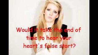 Ellie Goulding - Your biggest mistake - Lyrics