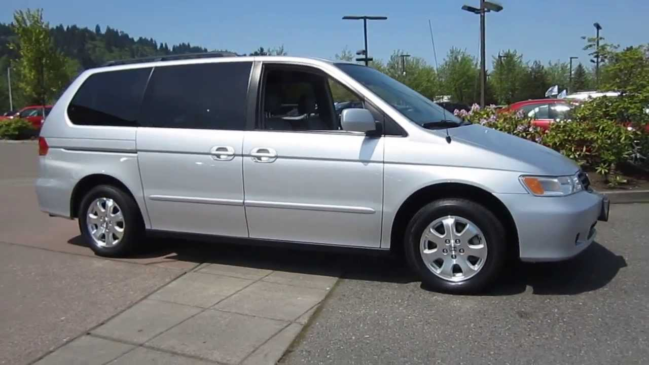 2003 honda odyssey silver stock 19699a youtube. Black Bedroom Furniture Sets. Home Design Ideas