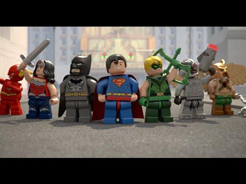 Justice League Team Up - LEGO DC Comics Super Heroes - Mini Movie ...