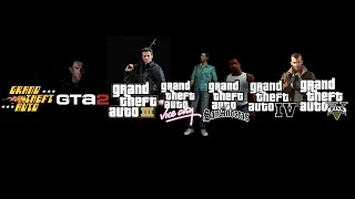 Все интро Grand Theft Auto  ★ All intro video GTA (1997-2013)