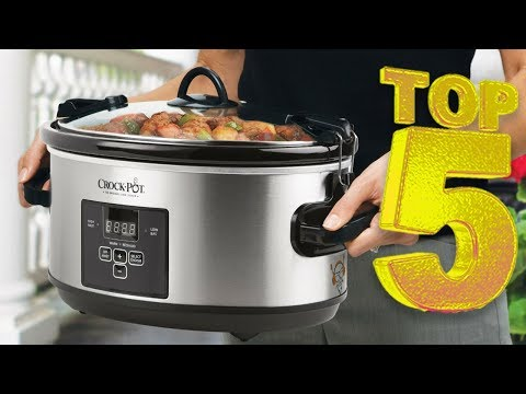 5 Best Slow Cookers That Simplify Meal Prep For Home Cooks In 2018