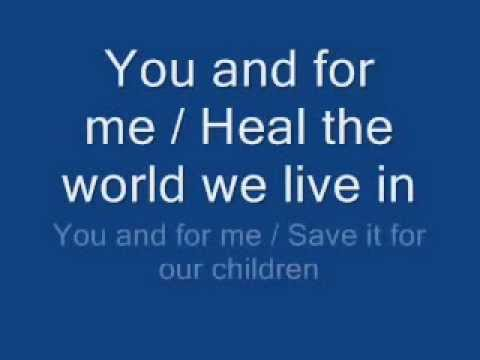 when was heal the world written